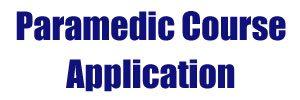paramedic-course-application
