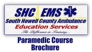 June 2017 Paramedic Course Brochure
