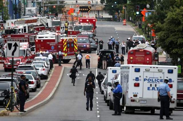 Shooting at Washington, D.C. Navy Yard; 13 People Killed
