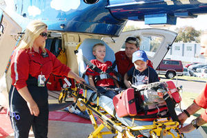 10 Year Old Girl's wish granted – Paramedic for a day