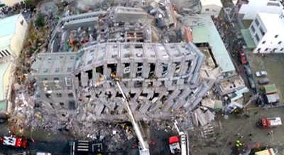 11 dead, hundreds rescued as strong earthquake hits Taiwan